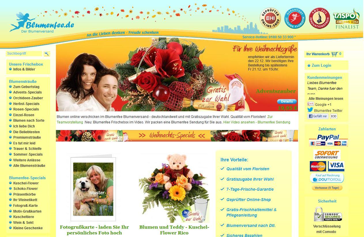 Blumenfeede Test Erfahrungen Versandkosten Vergleich